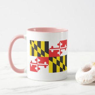 Caneca Bandeira de Maryland