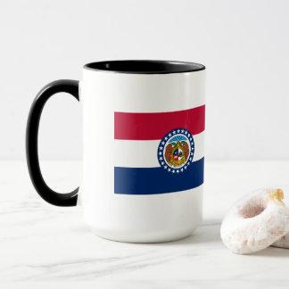 Caneca Bandeira de Missouri