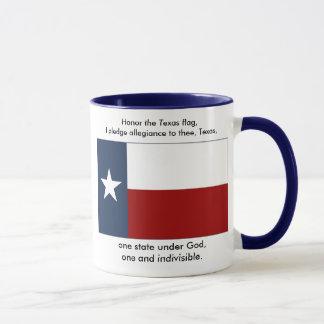 Caneca Bandeira de Texas - garantia de Texas