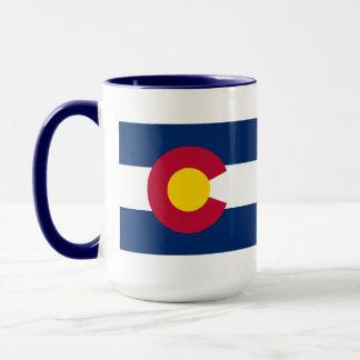 Caneca Bandeira do estado de Colorado