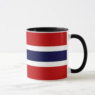 Caneca Bandeira norueguesa - Kongeriket Norge - Norsk
