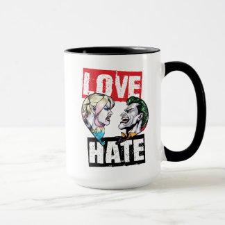 Caneca Batman | Harley Quinn & amor do palhaço/ódio