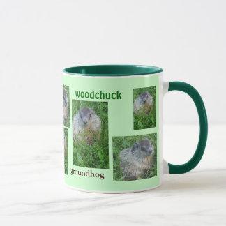 Caneca Bebê Groundhog/caneca da marmota