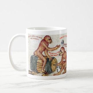 Caneca bêbedo do macaco