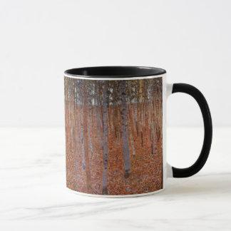 Caneca Beechwood-Floresta de Klimt