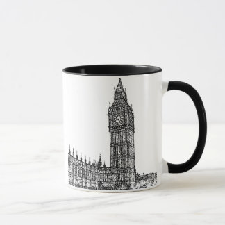 Caneca ~ Big Ben de Londres