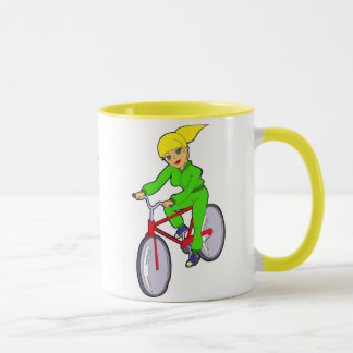 caneca biking da menina
