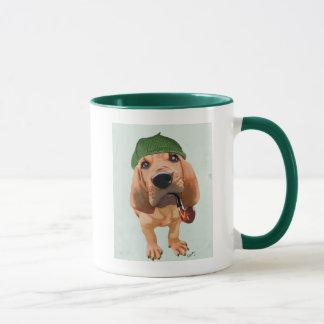 Caneca Bloodhound Sherlock Holmes