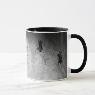 Caneca Blowflies na parede (cinza de ardósia)