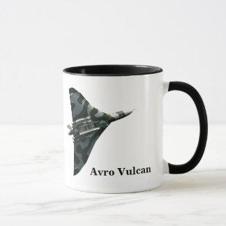 Caneca Bombardeiro de Avro Vulcan com seu monograma