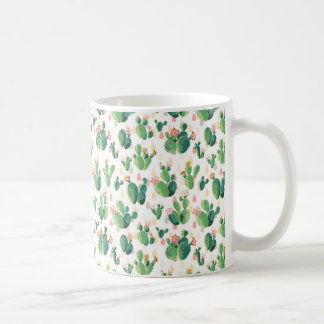 Caneca bonita do cacto do Succulent bonito