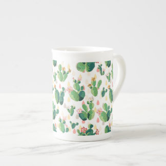 Caneca bonita do cacto do Succulent bonito