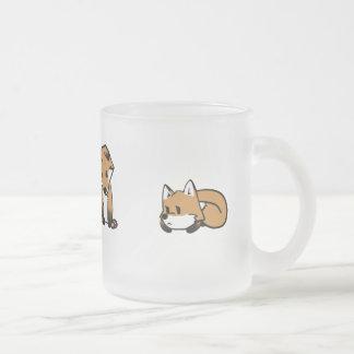Caneca bonito das raposas