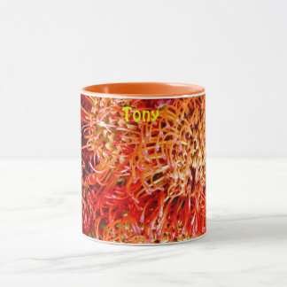 Caneca ~ bonito personalizado ~ do Banksia de TONY