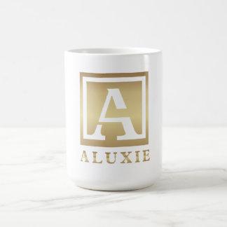 Caneca branca clássica de ALUXIE