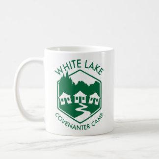 Caneca branca do lago