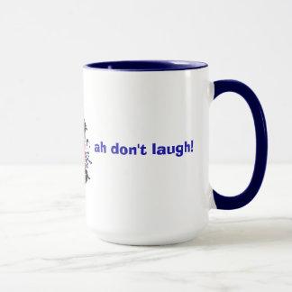 Caneca britânica do comediante