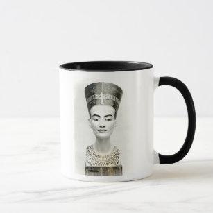 Caneca Busto da rainha Nefertiti