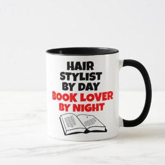 Caneca Cabeleireiro do amante de livro