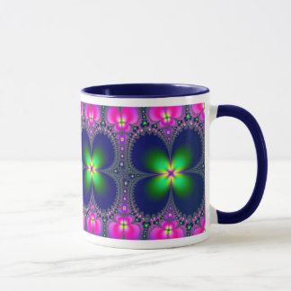 Caneca Café de flower power/caneca do chá
