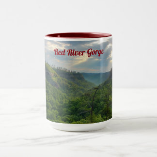Caneca Café do desfiladeiro de Red River