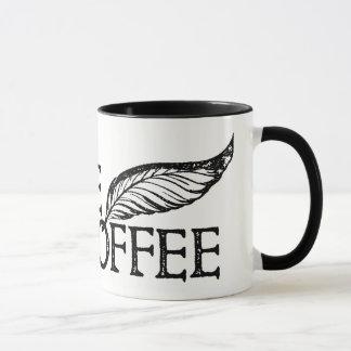 Caneca Café ou não selo de Shakespeare do café