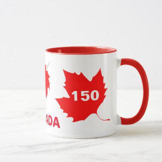 Caneca Canadá 150 anos de aniversário um--um-amável