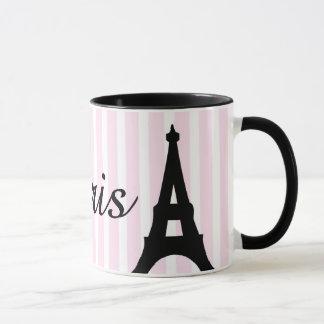 Caneca caneca, Paris, torre Eiffel