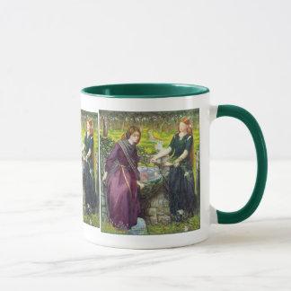 Caneca Caneca: Visão de Rossetti - de Dante de Rachel &