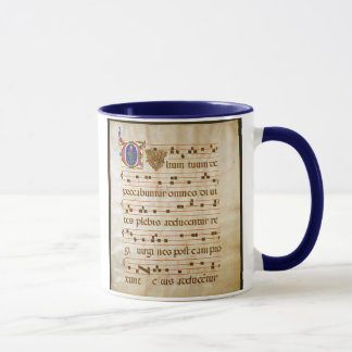 """Caneca canto manuscript.jpg, canto gregoriano: , O """"cu…"""