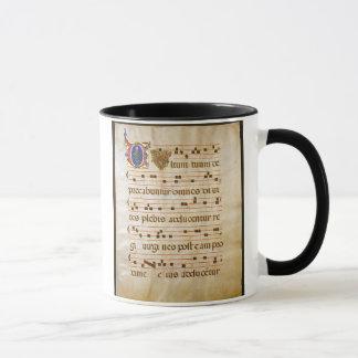 """Caneca canto manuscript.jpg, canto gregoriano: O """"cutt…"""