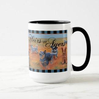 Caneca Cão australiano do gado - herdeiro de Ayers