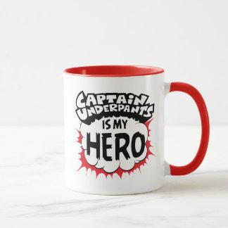 Caneca Capitão Cuecas | meu herói