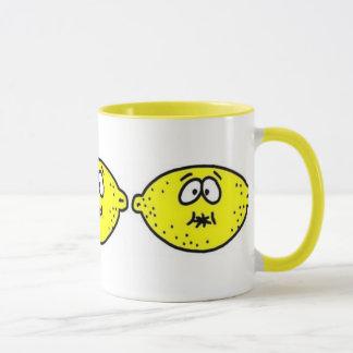 Caneca Cara ácida do limão