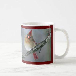 Caneca cardinal do norte