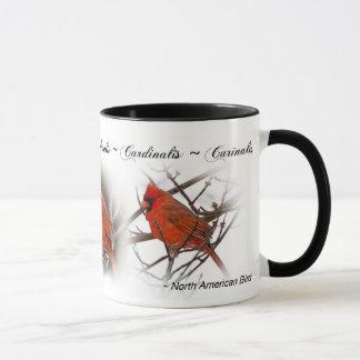 Caneca cardinal vermelha - Cardinalis