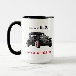 Caneca Carro vintage nao velho mas clássico engraçado