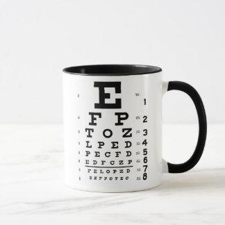 Caneca Carta de olho