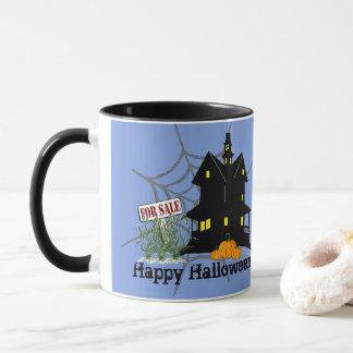 Caneca Casa assombrada para a venda