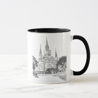 Caneca Catedral de St Louis do ~ de Nova Orleães