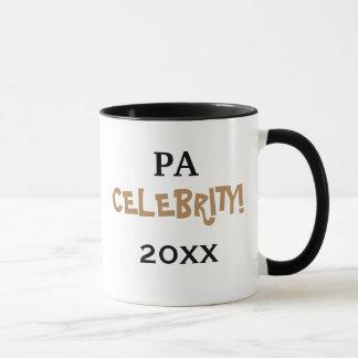 Caneca Celebração especial do PA de Personalisable