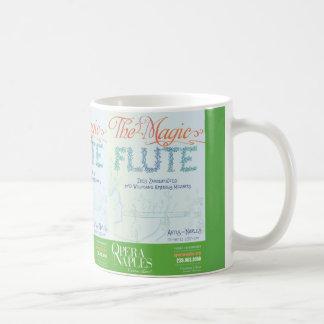 Caneca cerâmica do poster mágico da flauta 11