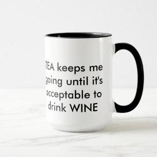 Caneca Chá e vinho