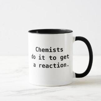 Caneca Chalaça engraçada da piada das citações do químico