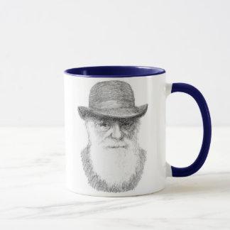 Caneca Charles Darwin - citações adaptávelas