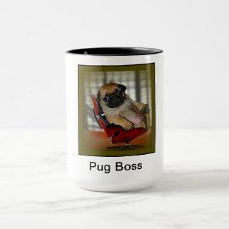 Caneca Chefe do Pug
