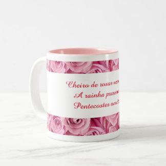 Caneca Cheiro de rosas