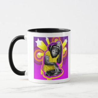 Caneca Chimpanzé DJ
