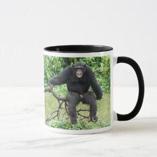 Caneca Chimpanzé em África