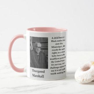 Caneca Citações de Thurgood Marshall